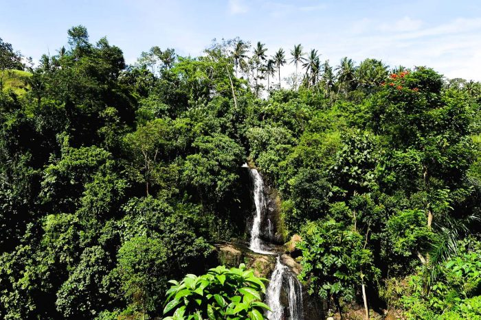 Waterfalls near Goa Gajah Temple in Ubud | Moving to Bali, Indonesia: My First Week in Ubud
