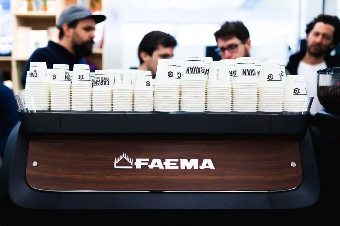Coffee Masters - A Day at The London Coffee Festival 2018 with FAEMA | Mondomulia