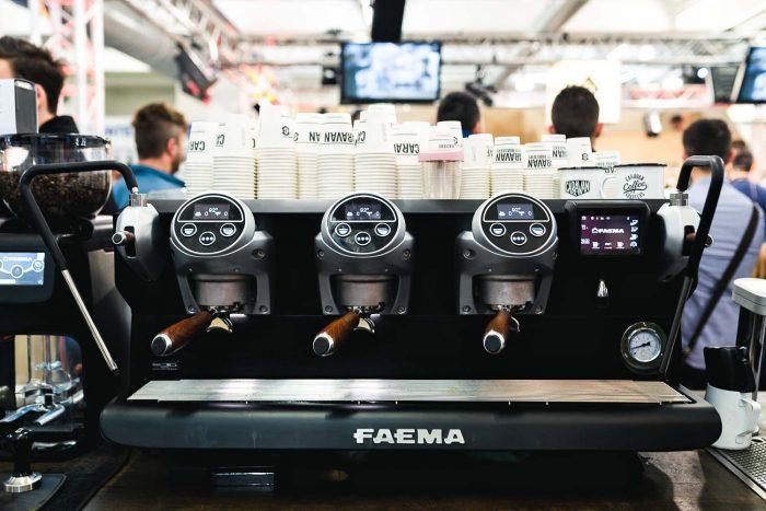 Coffee Masters - A Day at The London Coffee Festival 2018 with FAEMA | Mondomulia