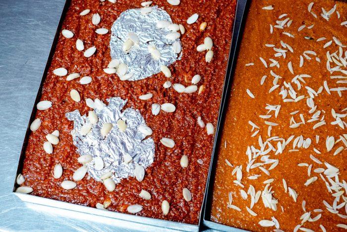 Halwa at Hameedi Confectioners in Hyderabad | Food Sherpa Trail with ITC Kakatiya Hotel
