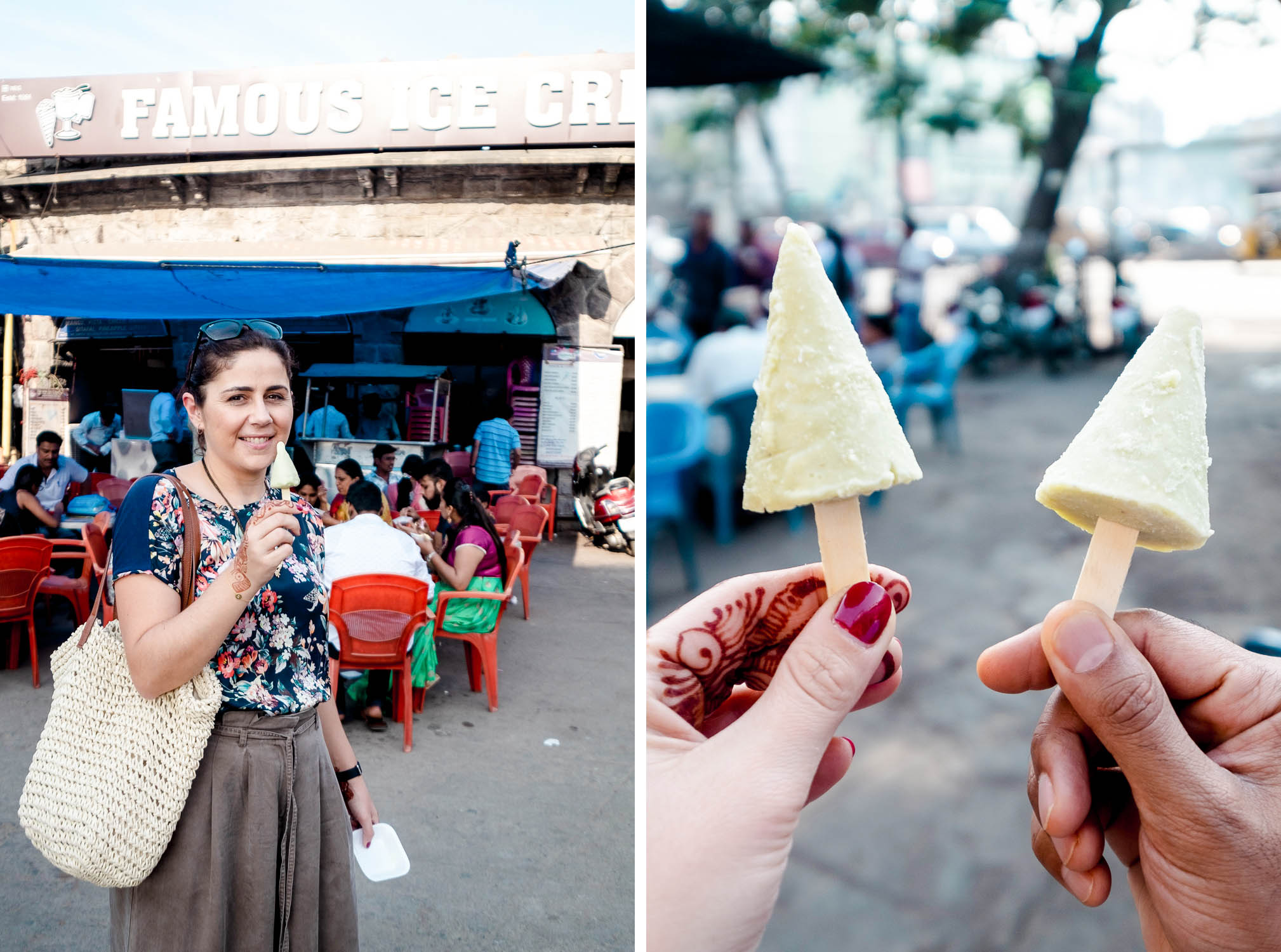 Famous Ice Cream in Hyderabad, India | Food Sherpa Trail with ITC Kakatiya Hotel