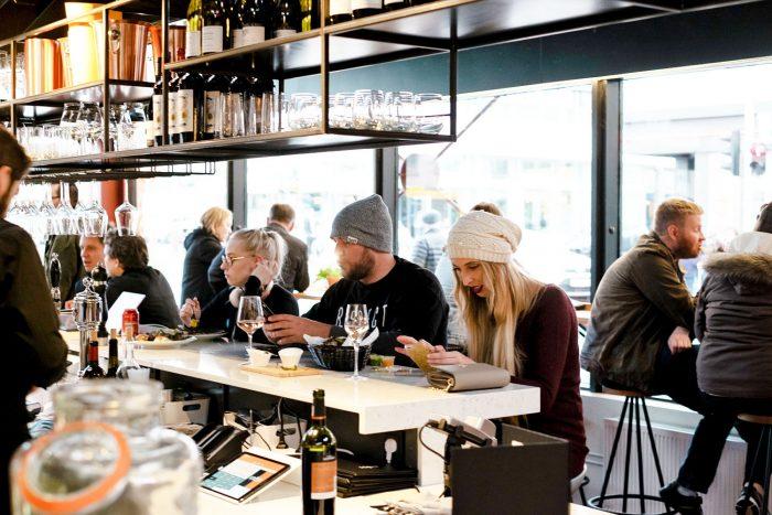 Hlemmur Food Hall in Reykjavik, Iceland