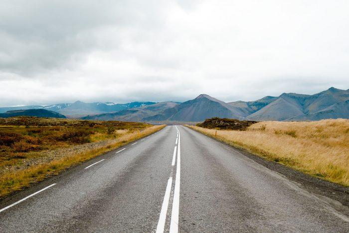 Borgarfjordur in South West of Iceland