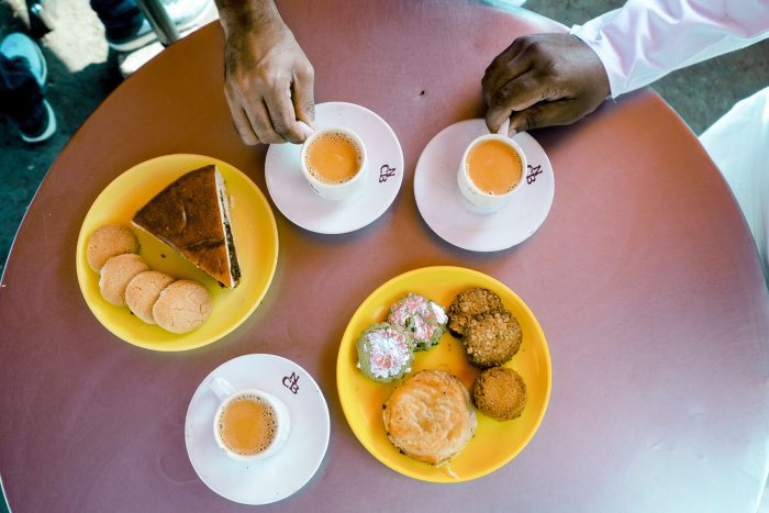 Nimrah Cafe & Bakery in Old Town Hyderabad, India | Food Sherpa Trail with ITC Kakatiya Hotel