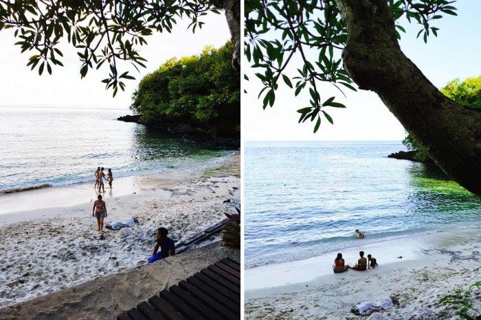 The Blue Lagoon beach in Bali