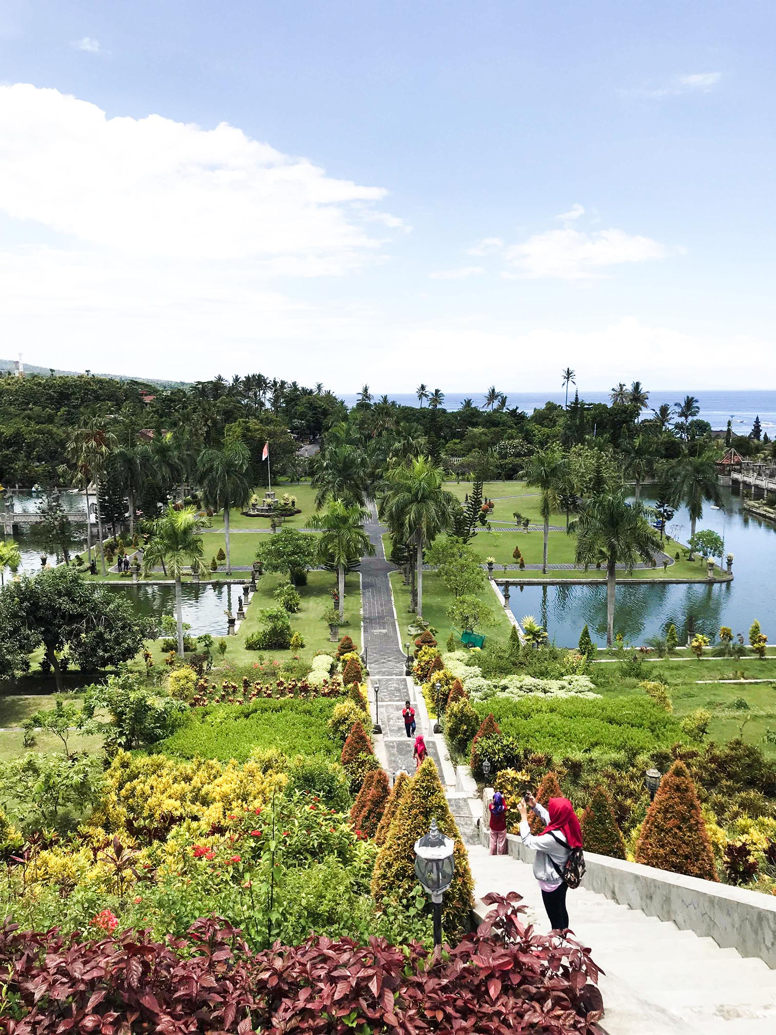 Ujung Water Palace in Bali