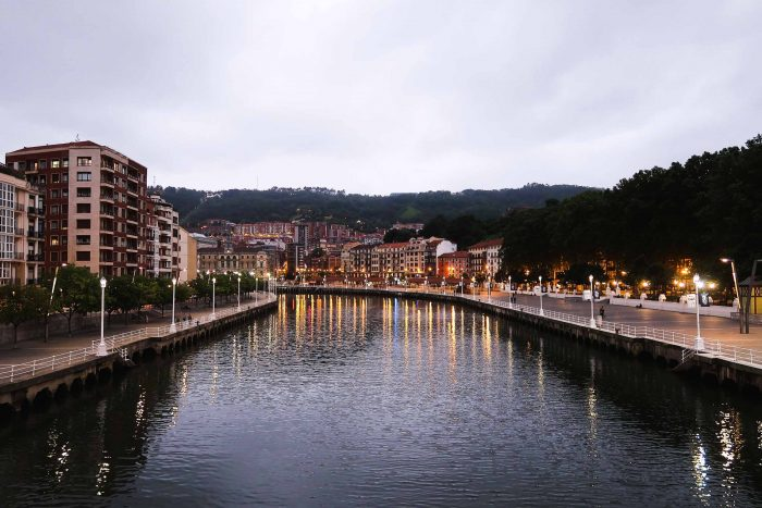 Arenal Bridge in Bilbao, Basque Country | A Guide to The Best Pintxos Bars in Bilbao | Mondomulia
