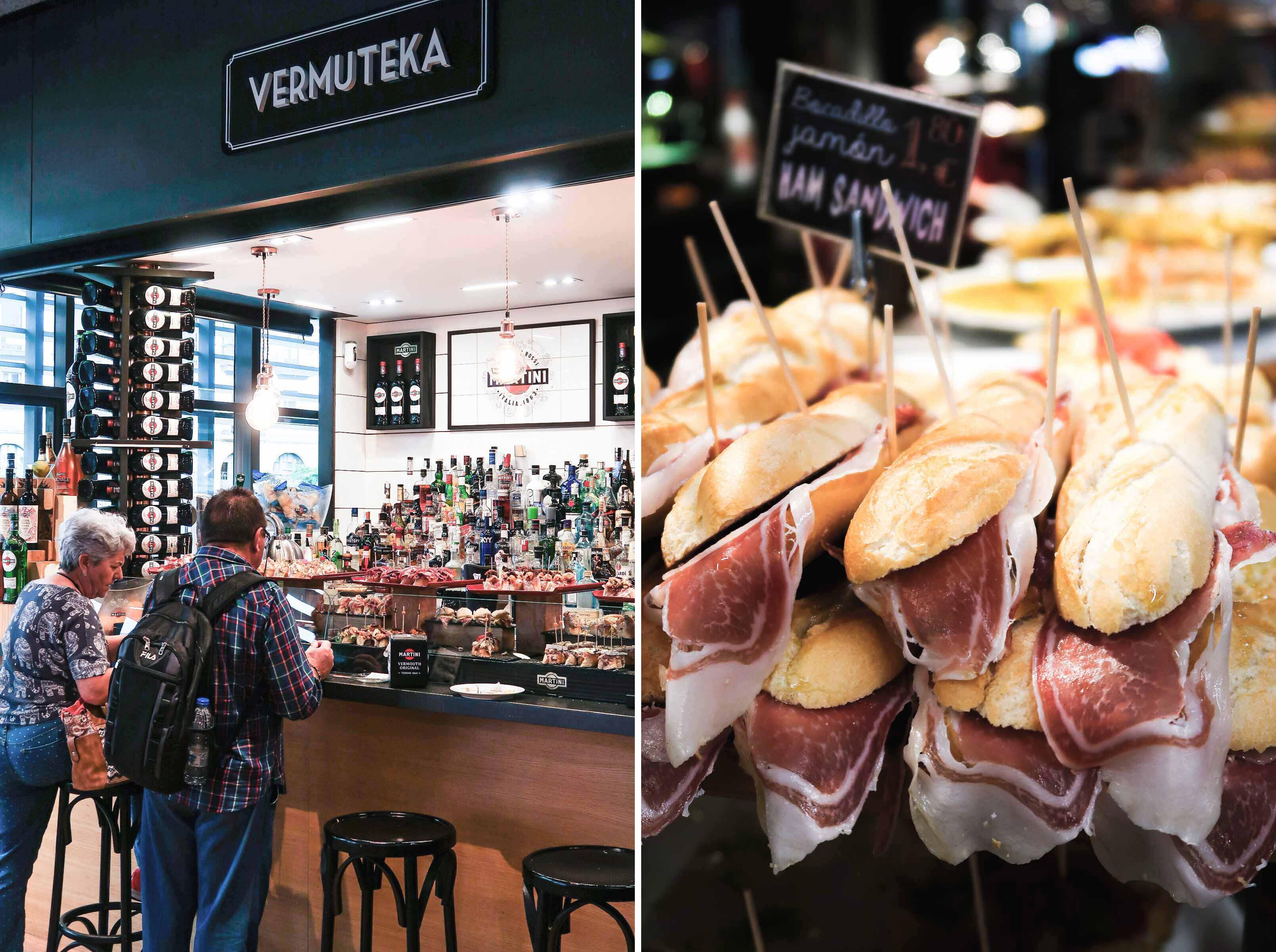Mercado de la Ribera   A Guide to The Best Pintxos Bars in Bilbao   Mondomulia