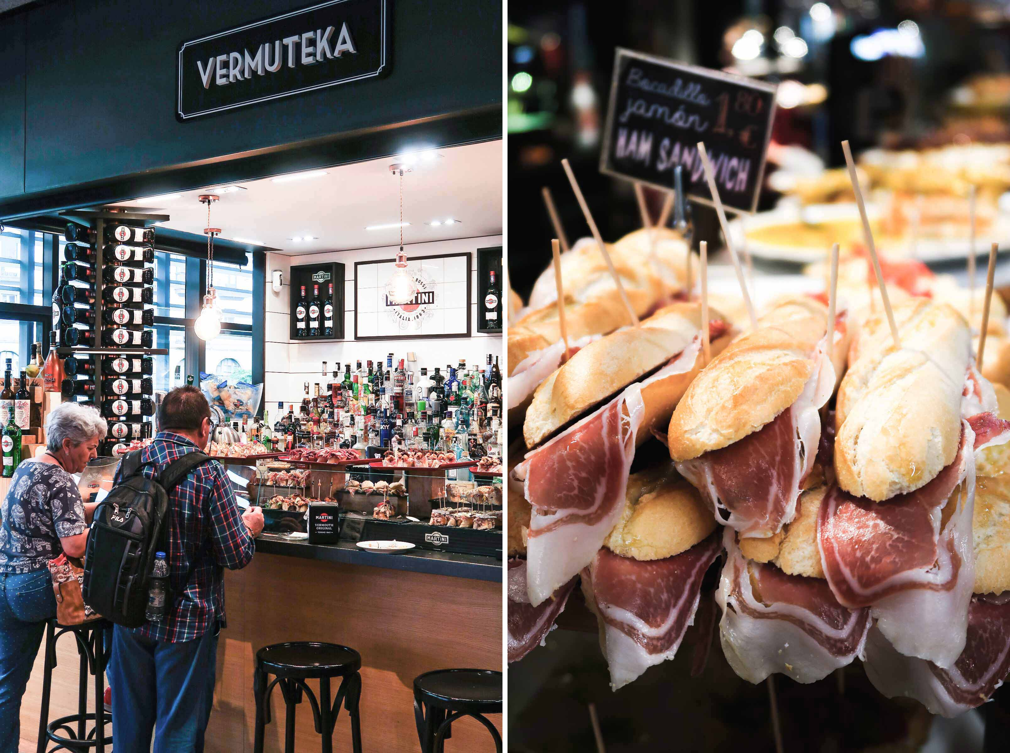 Mercado de la Ribera | A Guide to The Best Pintxos Bars in Bilbao | Mondomulia