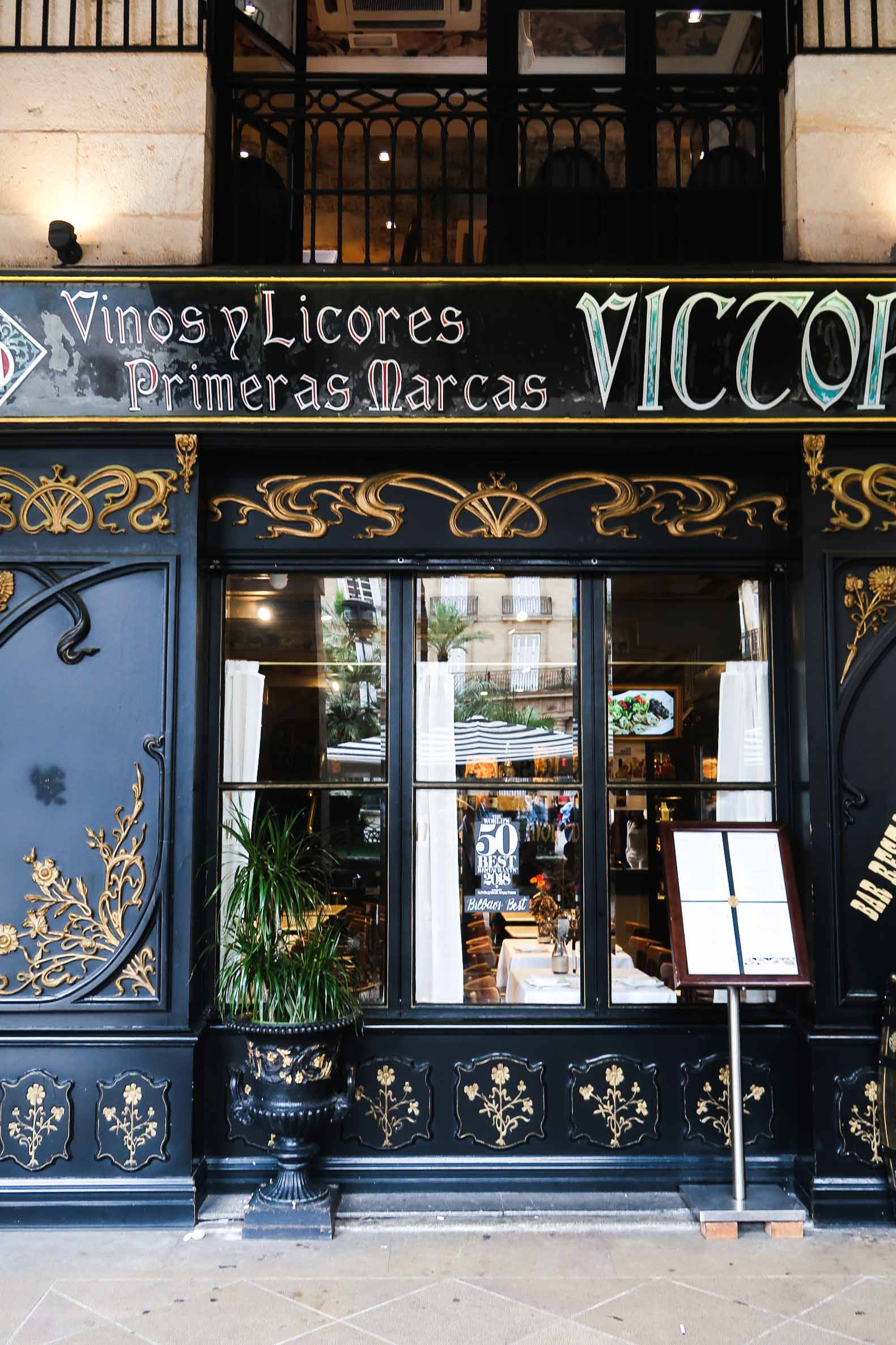Victor Montes Restaurant | A Guide to The Best Pintxos Bars in Bilbao | Mondomulia