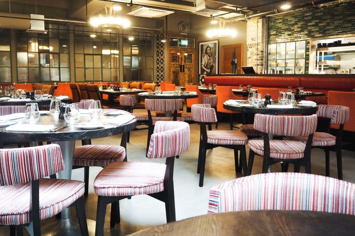 Mr White's English Chophouse restaurant at New Road Hotel - Whitechapel, East London