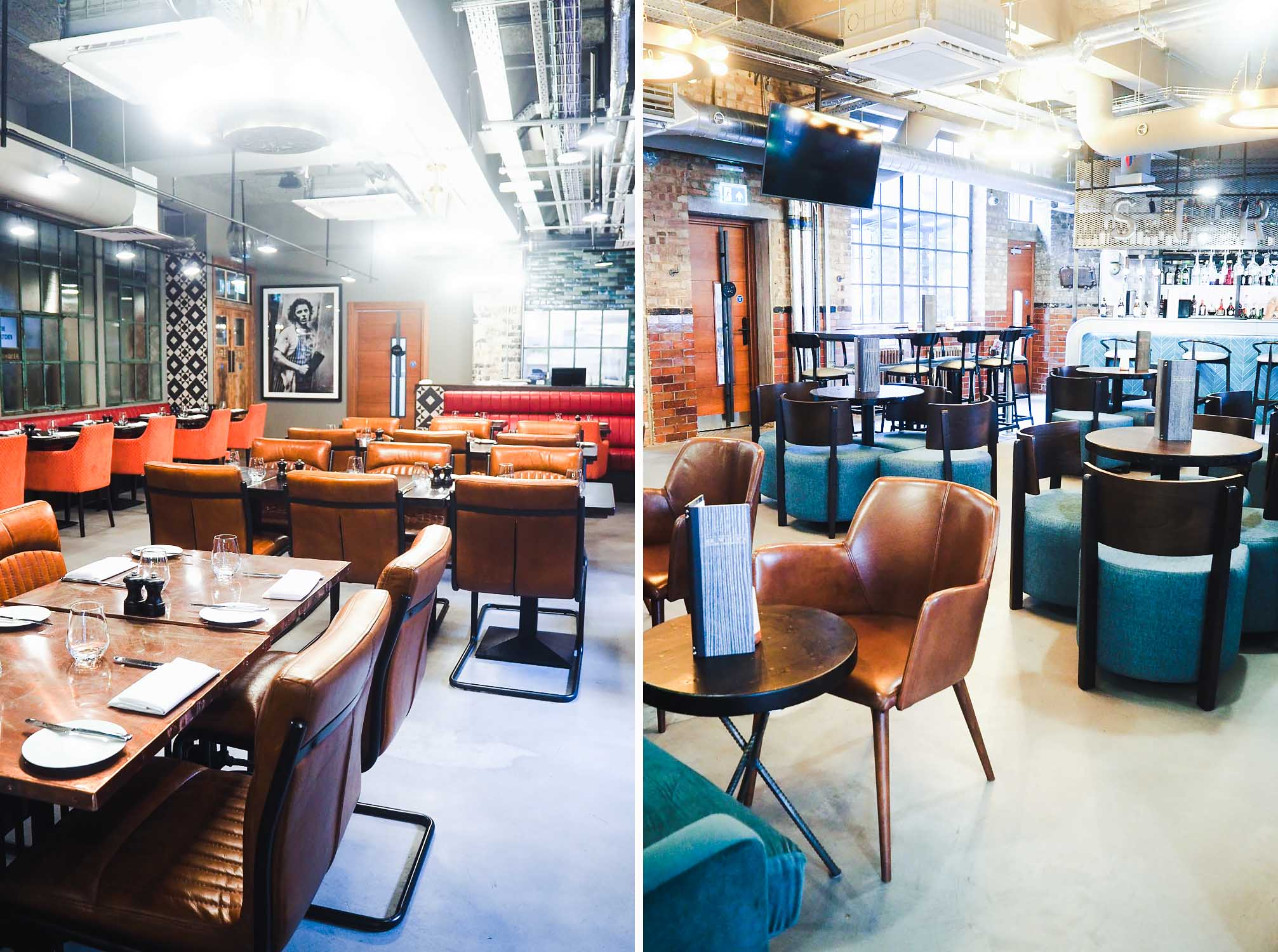 Mr White's English Chophouse restaurant at New Road Hotel - Whitechapel, East London