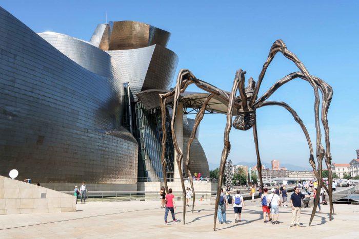 Guggenheim Museum in Bilbao, Basque Country   A Guide to The Best Pintxos Bars in Bilbao   Mondomulia