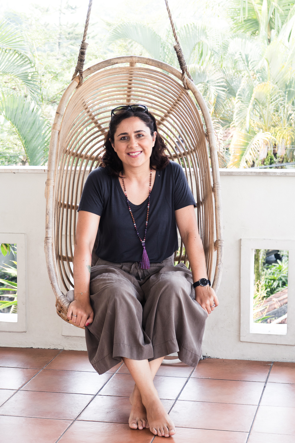 Giulia Mulè, Food and Travel Blogger at Mondomulia at Outpost Ubud co-working in Bali