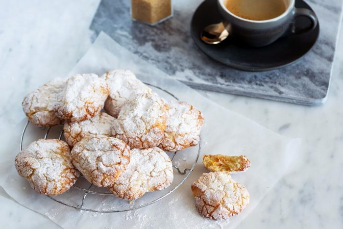 Marunchinos (Sephardic Almond Macaroons for Passover) | Recipe from Honey & Co. 'At Home' cookbook | Photography by Mondomulia