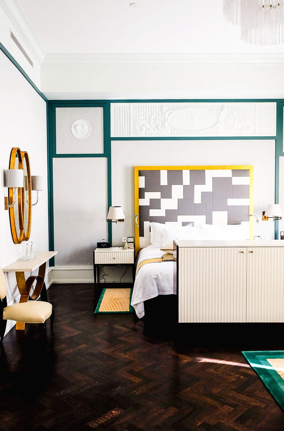 One of 6 Avant-Garde Suites at Belmond Grand Hotel Europe in Saint Petersburg, Russia
