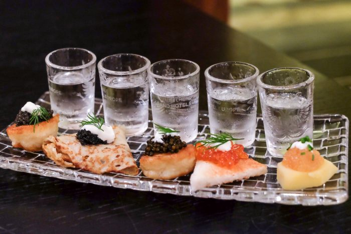 Caviar Bar & Restaurant at Belmond Grand Hotel Europe in Saint Petersburg, Russia