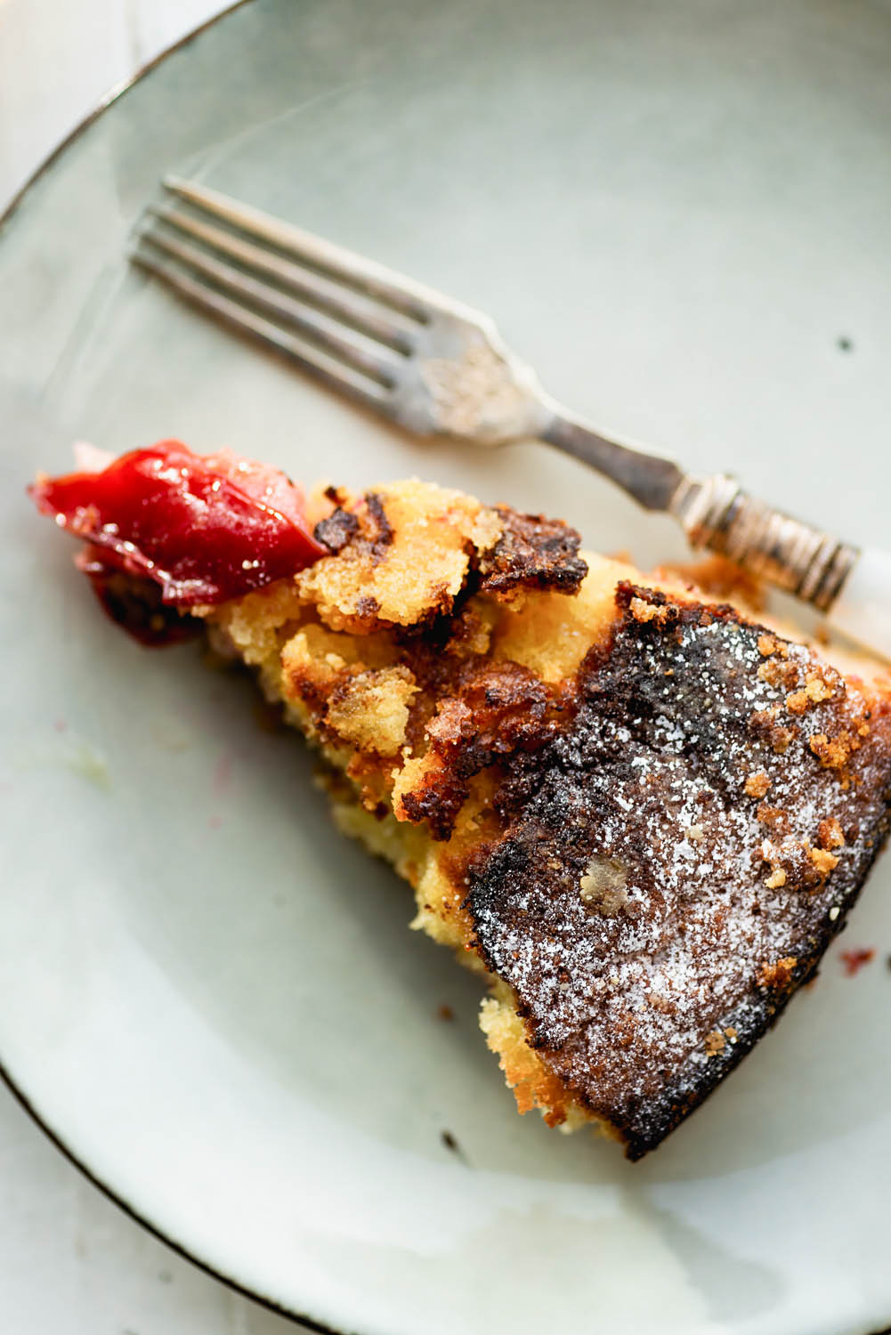 The famous New York Times Plum Torte recipe. First published in the New York Times in 1983, the recipe was so popular that the newspaper published it every year until 1995