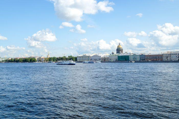 The Neva River in Saint Petersburg, Russia | Mondomulia Travel Guides