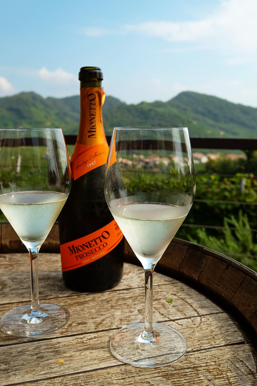 A visit to Conegliano Valdobbiadene, the home of Prosecco wine in Veneto, Italy