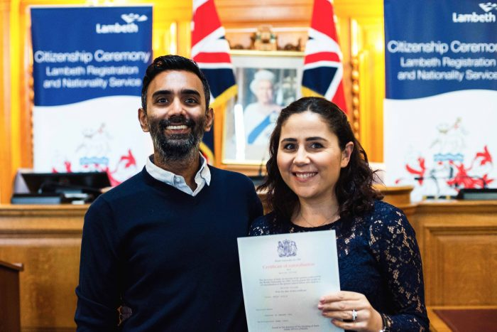 My British citizenship ceremony at Lambeth Town Hall | Mondomulia