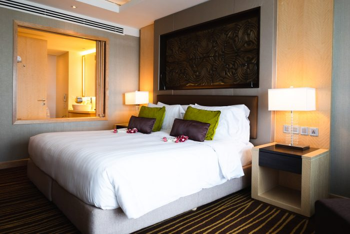 Clubroom at Amari Watergate hotel in Bangkok, Thailand