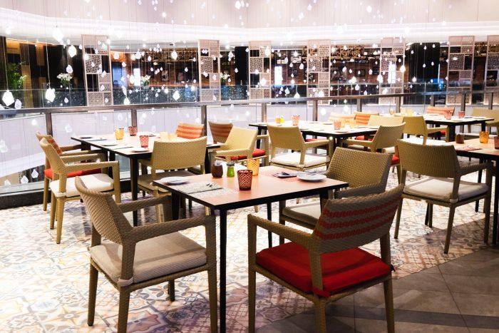 Amaya Food Gallery at Amari Watergate hotel in Bangkok, Thailand