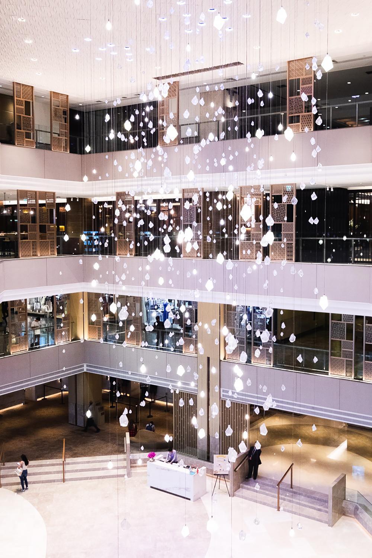 The lobby at Amari Watergate Hotel by ONYX in Bangkok, Thailand
