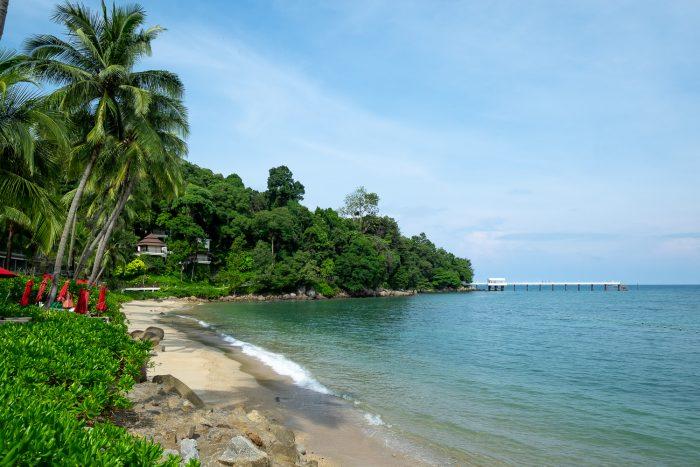 Coral beach at Amari Phuket resort in Patong, Phuket, Thailand | How To Spend 3 Amazing Days in Phuket by Mondomulia