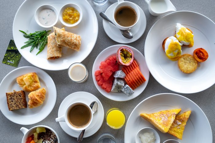 Breakfast at The Clubhouse at Amari Phuket resort in Thailand | How To Spend 3 Amazing Days in Phuket by Mondomulia