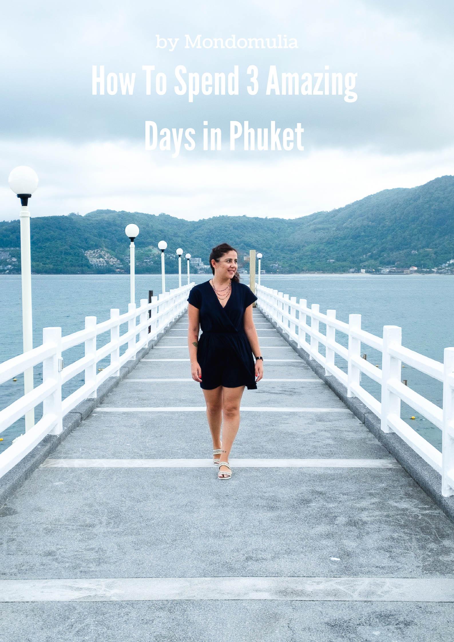 The Jetty at Amari Phuket resort in Patong, Phuket, Thailand | How To Spend 3 Amazing Days in Phuket by Mondomulia