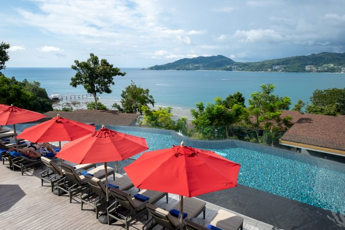 Infinity pool at The Clubhouse at Amari Phuket, Thailand | How To Spend 3 Amazing Days in Phuket by Mondomulia