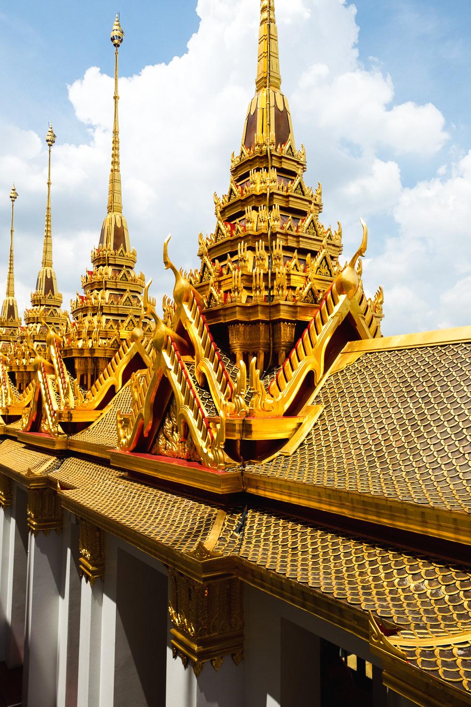 Loha Prasat Wat Ratchanatdaram Temple in Bangkok, Thailand | Mondomulia