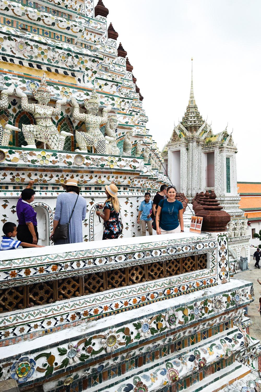 Wat Arun Temple in Bangkok, Thailand | A Four Day City Guide by Mondomulia