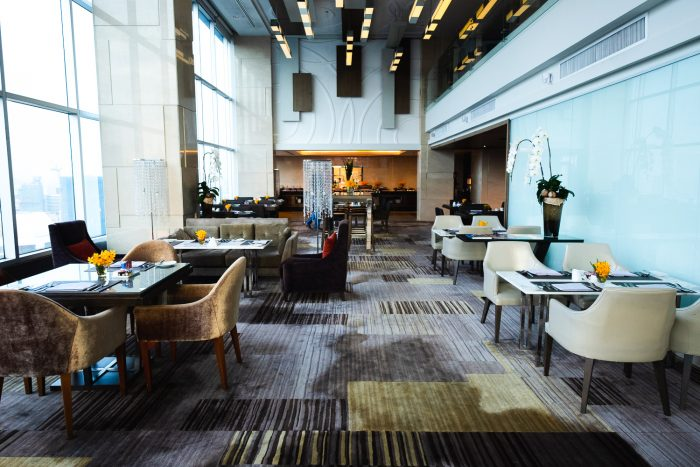 Executive Lounge on the 32nd Floor at Amari Watergate hotel in Bangkok, Thailand