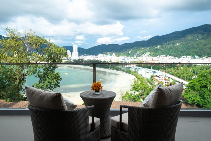 The view from one of the Club Rooms at Amari Phuket, Thailand | How To Spend 3 Amazing Days in Phuket by Mondomulia