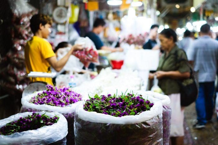 Bangkok Flower Market (Pak Klong Talad)