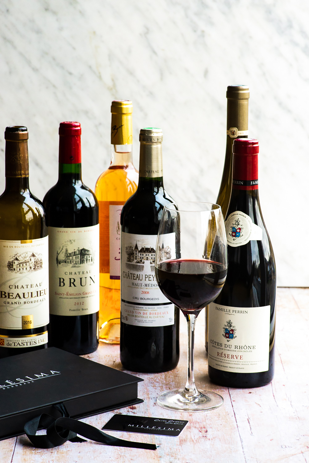 Tasting Case of 6 Wines | Millesima, a Bordeaux-based wine merchant with one of the most comprehensive selections of fines wines from everywhere in the world.