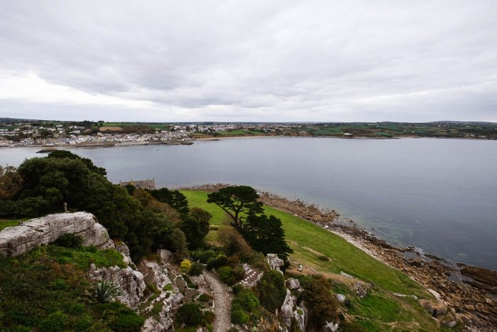 The view from the castle at St Michael's Mount | A 5-day guide to beautiful Cornwall by Mondomulia