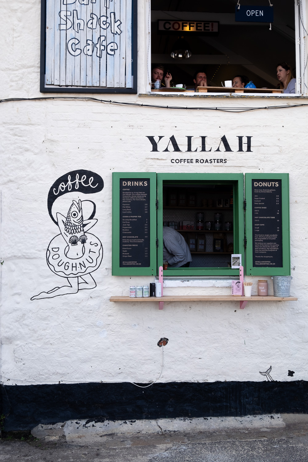 Yallah coffee roasters in St Ives | A 5-day guide to beautiful Cornwall by Mondomulia