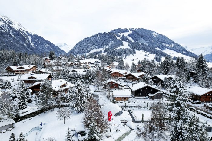 Park Gstaad is a five star hotel in Gstaad, Switzerland featuring luxury rooms and suites, four restaurants and a 1000 sqm spa.