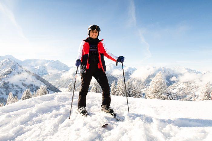 Ski in Gstaad, Switzerland