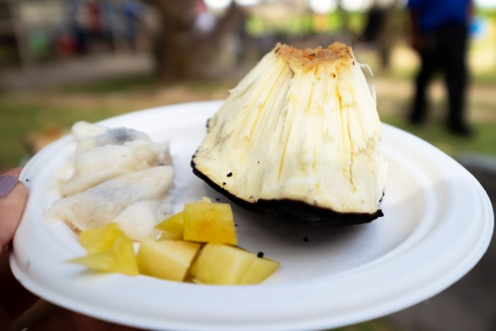Bajan food and roasted breadfruit   A 5-Day Itinerary of What to See and Eat around Barbados