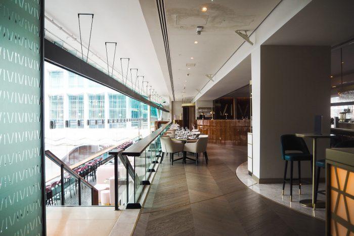 VIVI Restaurant & Bar at Centre Point in Tottenham Court Road, London