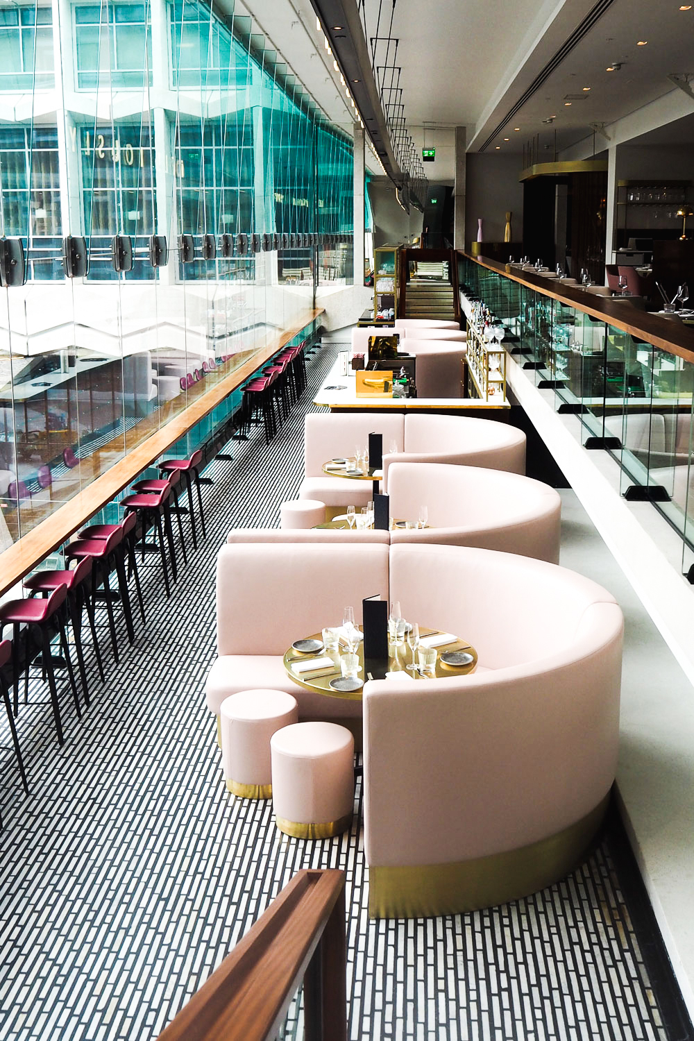 VIVI Restaurant & Bar at Centre Point in Tottenham Court Road, London