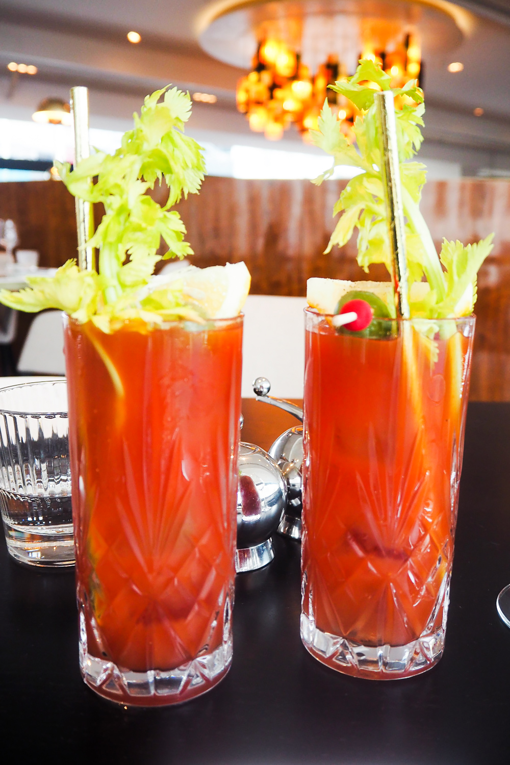 Bloody Mary - VIVI Restaurant & Bar at Centre Point in Tottenham Court Road, London