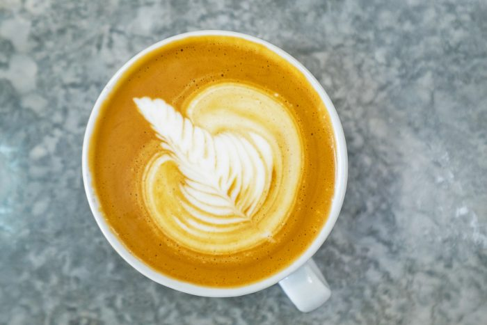 Flat White at Wyndhams Coffee roastery in Christ Church | | A 5-Day Itinerary of What to See and Eat around Barbados