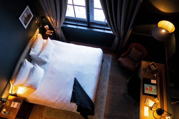 The Letter bedroom at 1898 The Post Hotel | How To Spend a Long Weekend in Ghent, Belgium | Mondomulia
