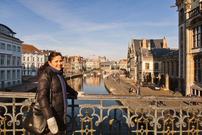St Michael's Bridge | How To Spend a Long Weekend in Ghent, Belgium | Mondomulia