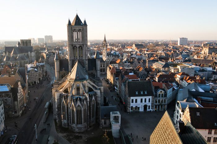 The view from Ghent's Belfry | How To Spend a Long Weekend in Ghent, Belgium | Mondomulia